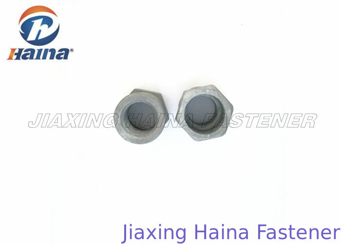 Carbon Steel Shear Hexagon Drive Security Nut  M10 Grade 4.8 With Hot Dip Galvanized Surface treatment