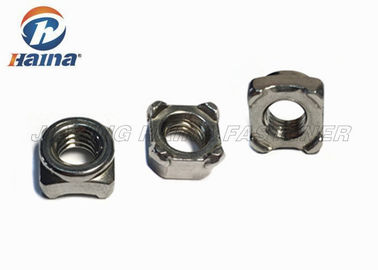 Stainless Steel Nuts Square Welding Nuts SS304 M12x1.75 for Welding Equipment
