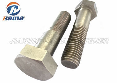 Stainless Steel Bolts DIN931 SS304  SS316 M6-M64 Hex Head Bolts