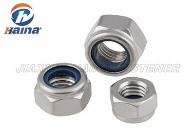 Stainless Steel A2 - 70 A4 - 80  Passivation Metric Thead Hex Nylon Inset Lock Nuts