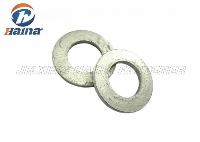Hot Dip Galvanized Flat Washers M30 Gr.4.8 With 55.26 - 56mm Outer Diameter